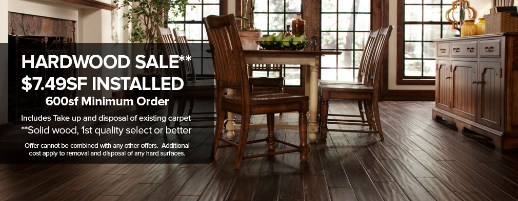 Sterling Hardwood Flooring Sale Sterling Carpet Sale Sterling - Cost difference between carpet and hardwood floors